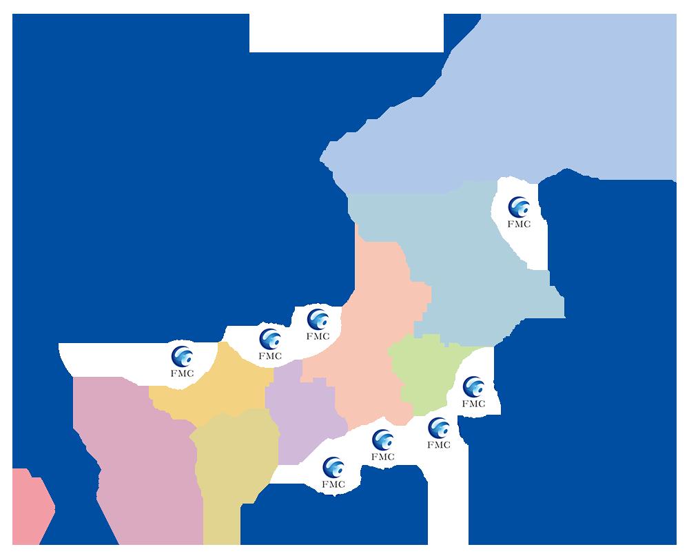 全国ネットワーク図